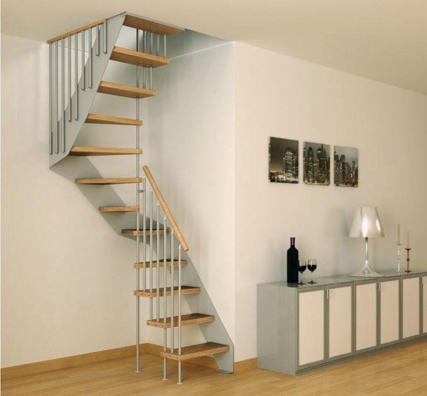 tangga rumah minimalis aluminium