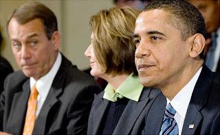 Boehner, Pelosi, Obama