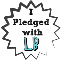 I PLEDGE WITH LADYBLOGGER