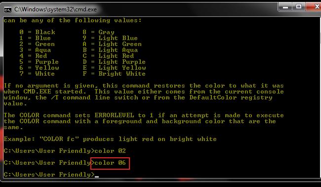 Cara Merubah Tampilan Command Prompt (CMD)