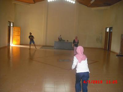 Olah raga badminton