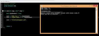 JENIS - JENIS TIPE DATA C++