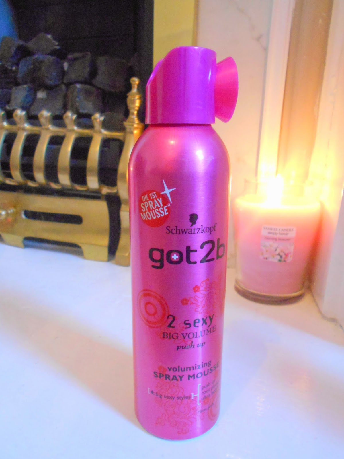 Schwarzkopf got2b 2 Sexy Volumizing Spray Mousse - Review