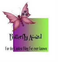 My Butterfly Award