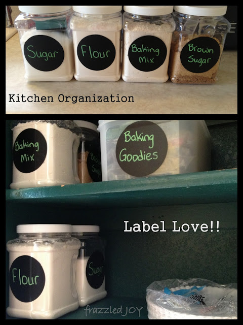 Baking storage and organization