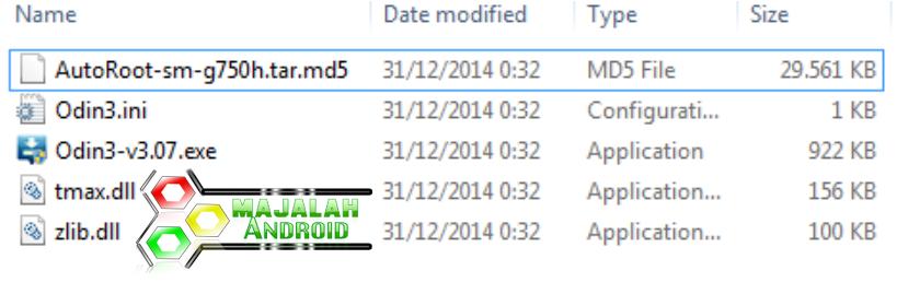Cara Root Samsung Galaxy Mega 2 Duos (SM-G750H)