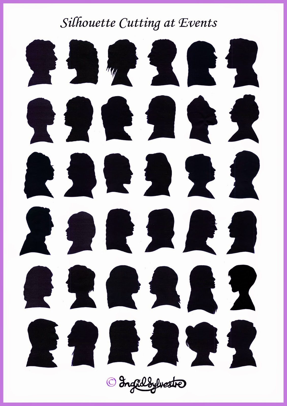 Silhouettes North East Wedding Entertainment ideas Party Entertainment Christmas Party Entertainment Corporate Events Wedding Caricatures and Silhouettes Ingrid Sylvestre UK caricaturist & silhouette artist North East Newcastle upon Tyne Durham Sunderland Middlesbrough Teesside Northumberland Yorkshire