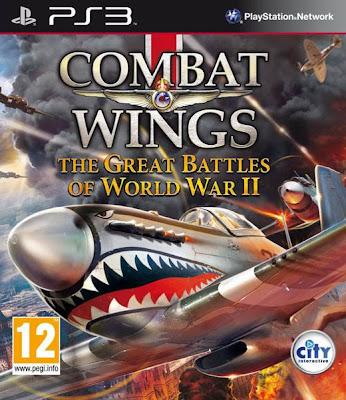 Jogos PLAYSTATION 3 Combat Wings: The Great Battles of World War II,lançamento fevereiro