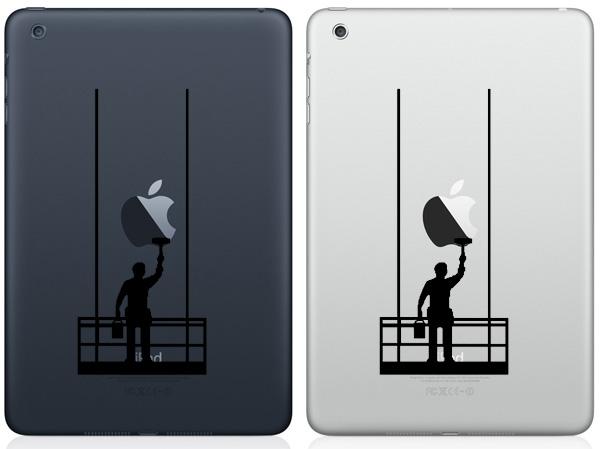 Painter iPad Mini Decals