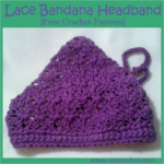 Lace Bandana Headband
