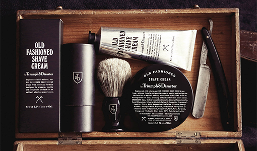 grooming products, men