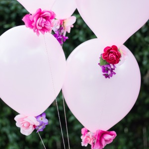 Featured Project: Flower Balloons
