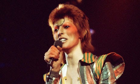 David Bowie in Ziggy Stardust