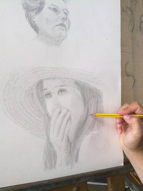 realizacion de un retrato femenino