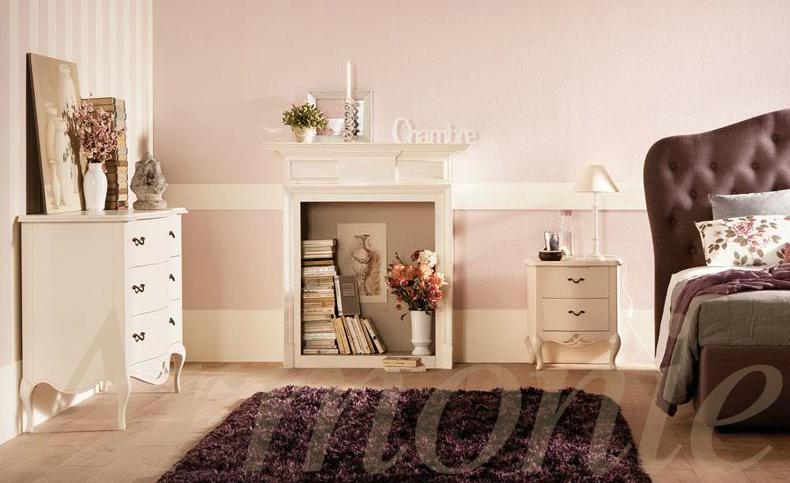 Una camera da letto romantica ma con carattere [VistaCasa] - Vista ...