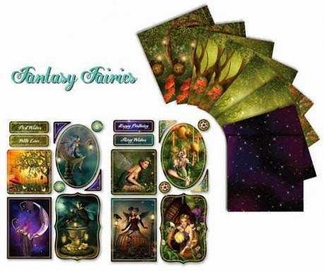 Lelli-Bot Fantasy Fairies collection at Foil Play