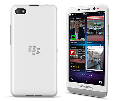 Handphone Blackberry Z3 - White