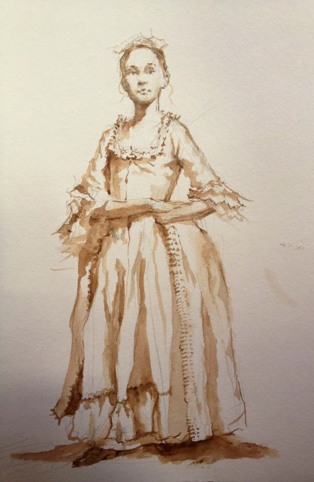 Watercolor Wash Drawing With Robert Liberace Artists