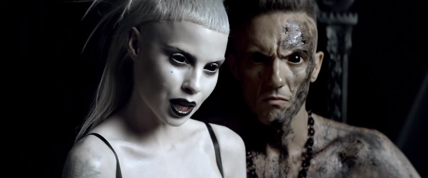 "with Die Antwoord (""I Fink"