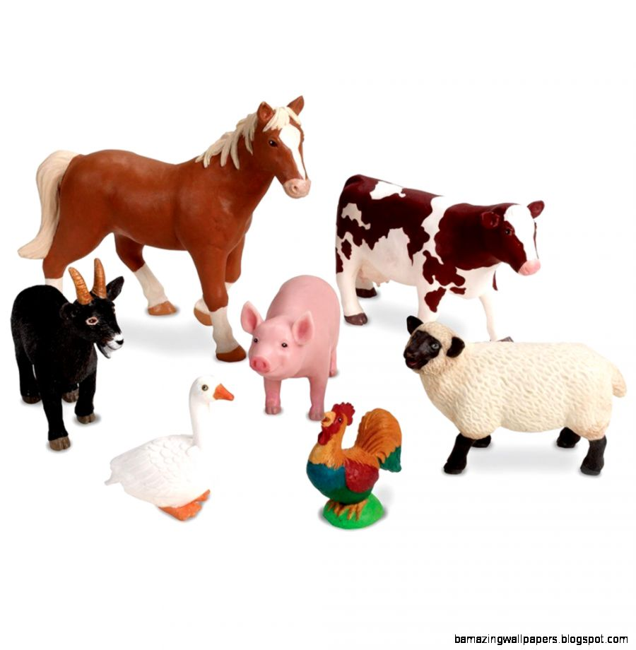 Learning Resources Jumbo Farm Animals Toys amp Games