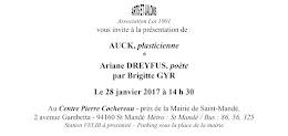 Evènements janvier 2017