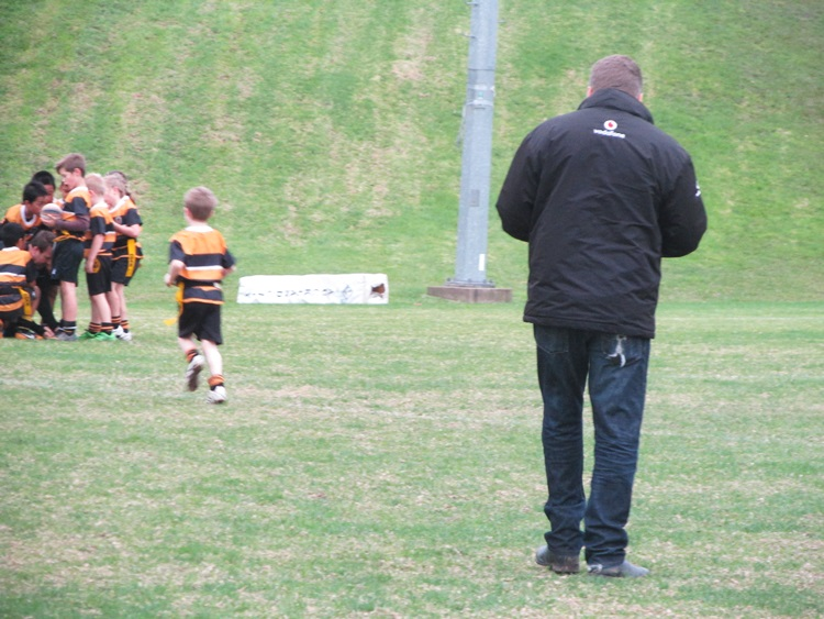 Our manager is awesome too - Eden Gold Rippa Rugby