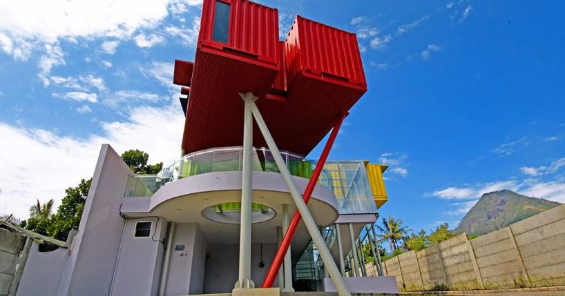 Casas contenedores biblioteca construida con contenedores - Casas en contenedores marinos ...