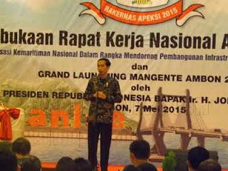 Presiden Joko Widodo menyatakan Pemerintah Pusat (Pempus) mulai tahun 2016 akan menganggarkan Rp100 miliar ke setiap kota di Indonesia.