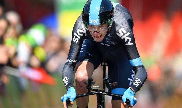 Froome ganó la contrarreloj final y la general del Tour de Romandía