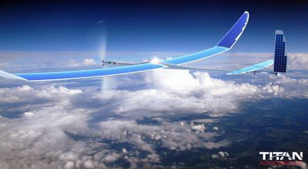 Pesawat Tanpa Pengemudi Bertenaga Surya