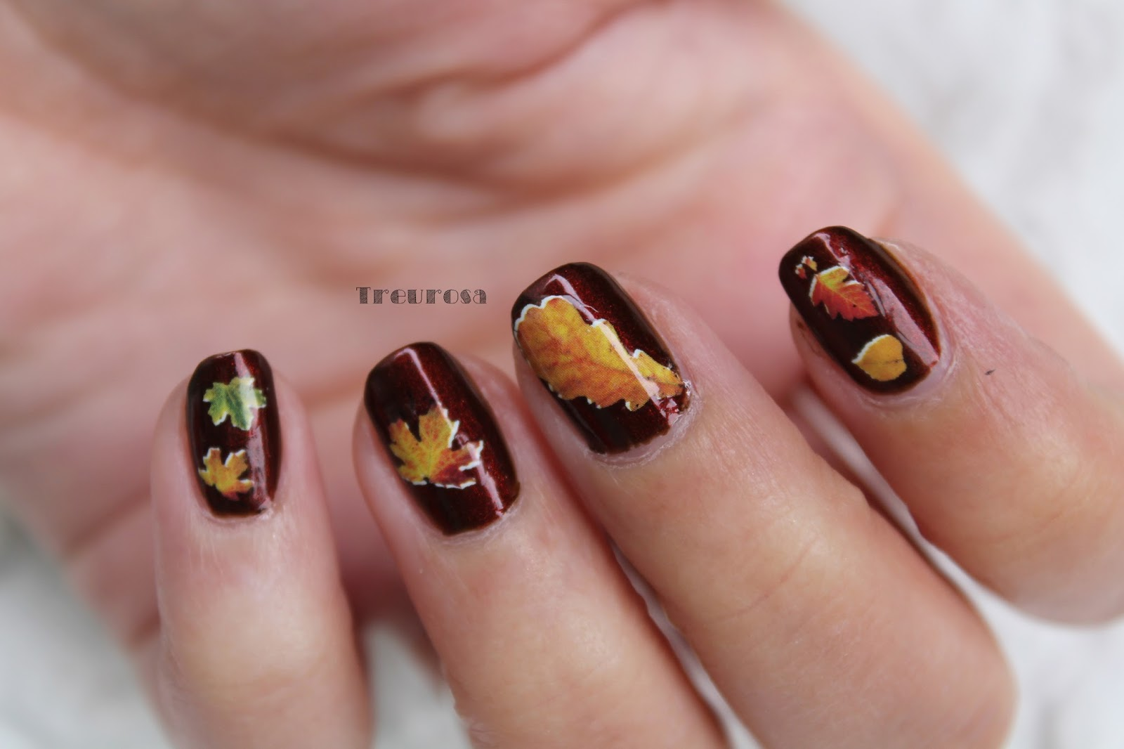nageldesign herbst 2015 - Nageldesign Herbst