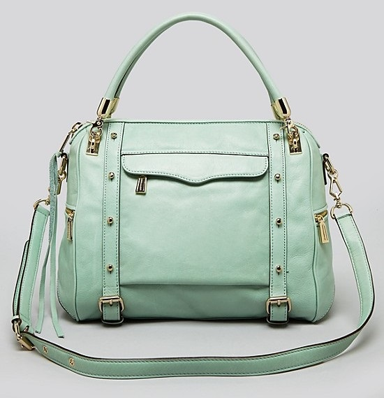 lust list- trendy satchels+pastel colored satchels+satchels+ladies handbags+ rebecca minkoff cupid satchel