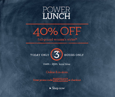 banana+republic+power+lunch 40% Off at Banana Republic