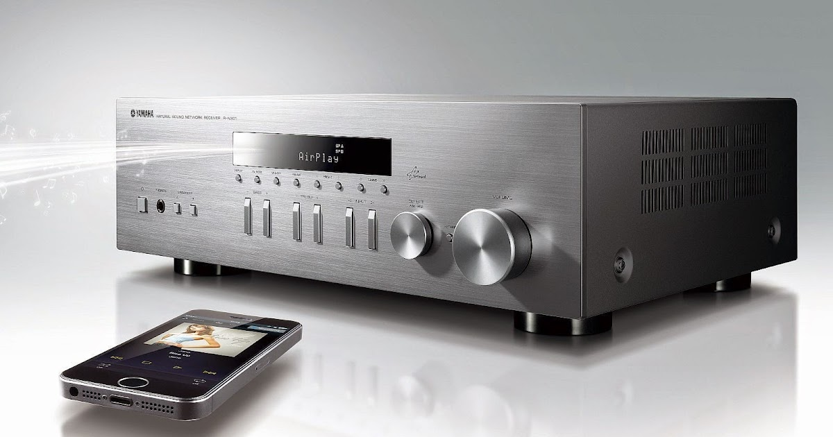Yamaha R N301 Stereo Network Receiver Audiobaza