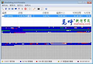 免費磁碟重組軟體下 - UltraDefrag 免安裝中文版下載