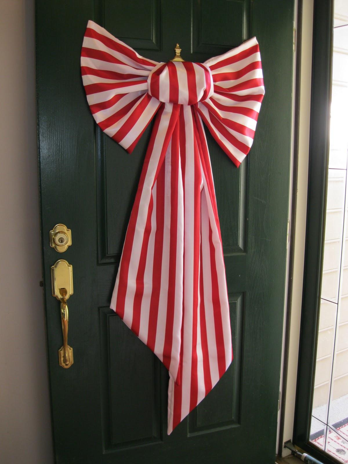 how to make a big bow - How To Make A Big Christmas Bow