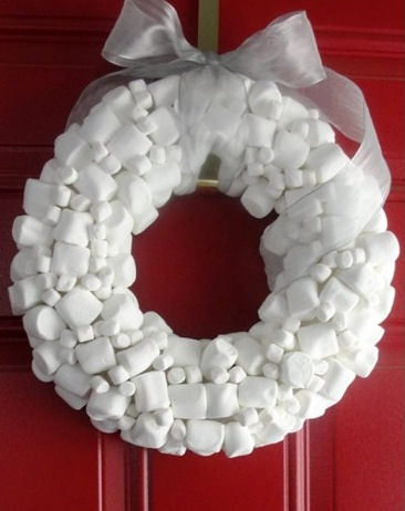 Party wreath marshmallows