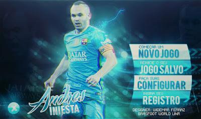 Skin Andrés Iniesta - Brasfoot 2015