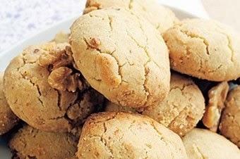 Cevizli çatlak kurabiye tarifi