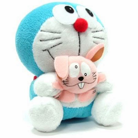 Gambar boneka doraemon n kelinci