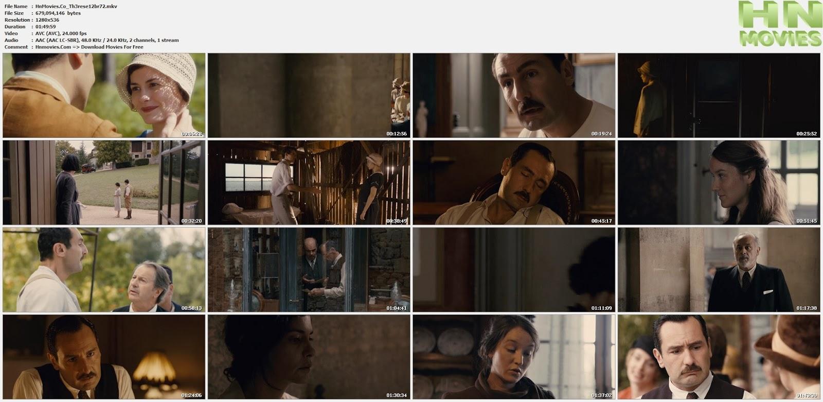 movie screenshot of Therese  fdmovie.com