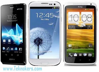 adu xperia T vs galaxy s 3 vs htc one x, bagusan mana sony xperia T apa galaxy series, perbandingan spesifikasi handphone android paling cangggih