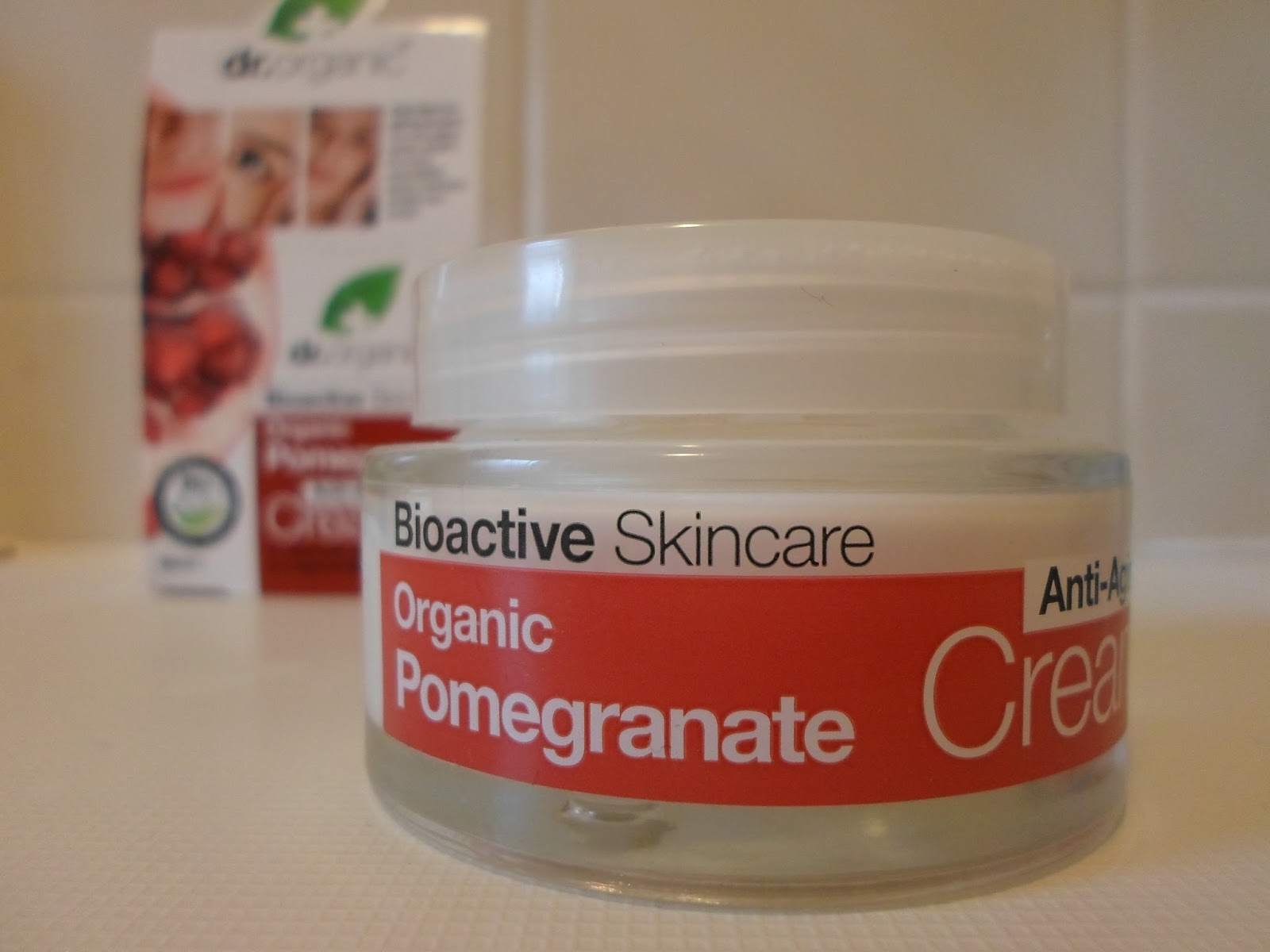 Dr Organic Pomegranate Face Cream Sugarpuffish Reviews