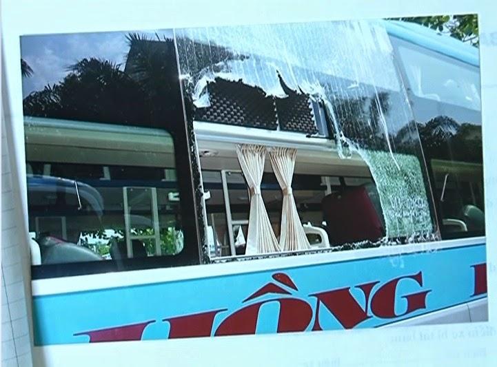 Gia Lai: Ném đá vào xe khách nỗi lo của hành khách và các doanh nghiệp vận tải