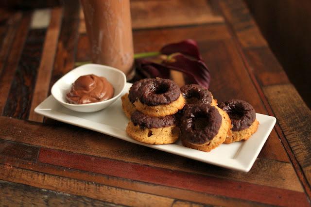 Peanut Butter Cup Doughnuts