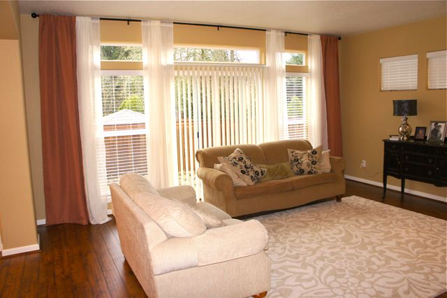 Pretty dubs living room transformation for Warm beige paint colors for living room