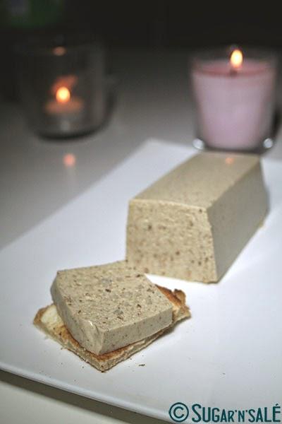 faux gras, foie gras végétal vega, sugar'n'salé