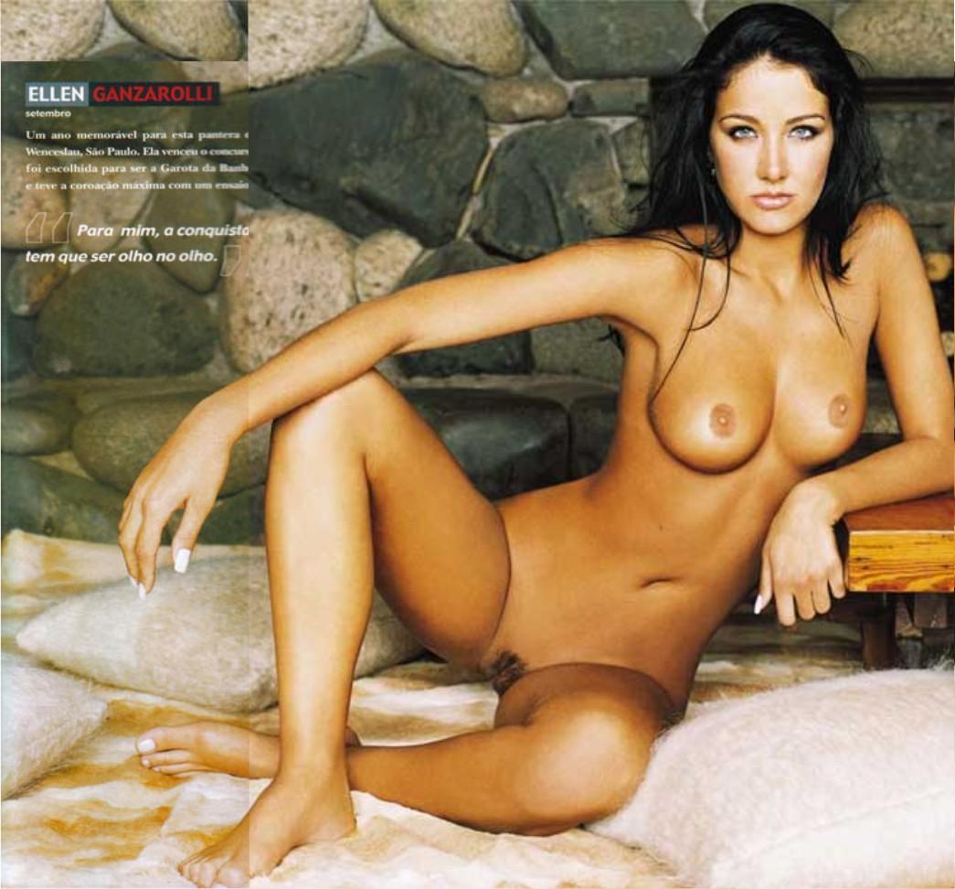 Helen Ganzarolli Playboy Setembro De