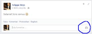 Cara Menambahkan Gambar Pada Komentar di Facebook