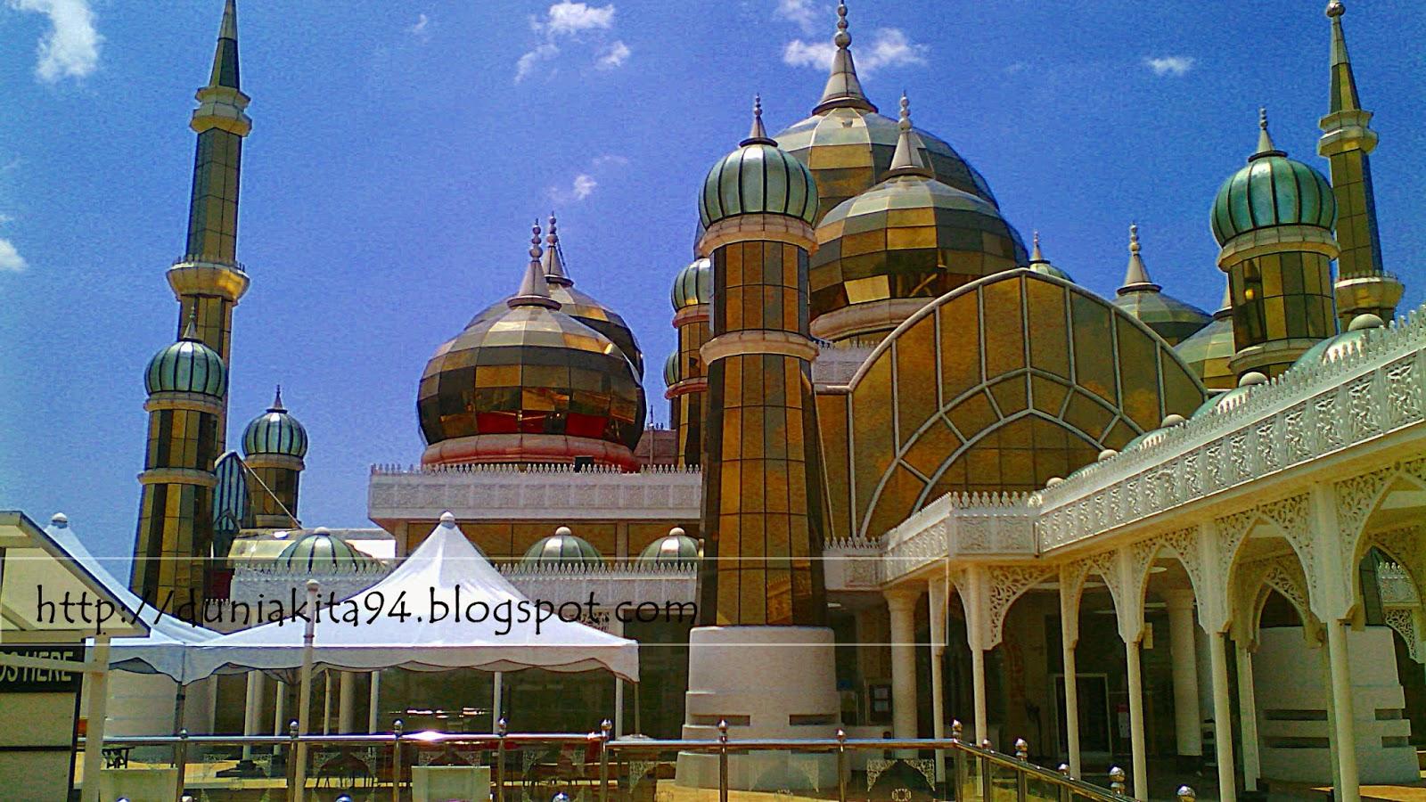 Masjid kristal Terengganu